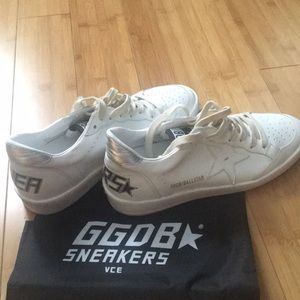 NWT! Golden Goose Ballstar Sneakers. Never worn!